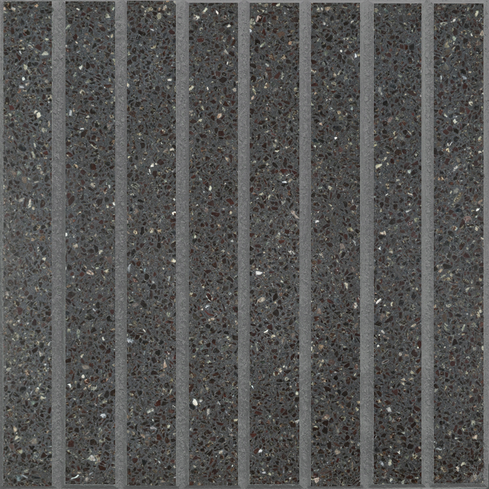 8 Vainillas Verde Alpes / Negro (40 x 40)